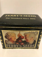Ferry's Seeds 1995 tin Empty