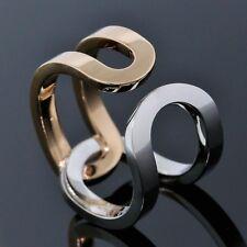 Piaget Possession Ring 18K White Rose Gold Wrap Cuff Band Size EU 54 US 6.75