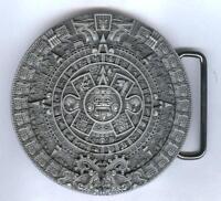 Gürtelschnalle Buckle Maya Kalender