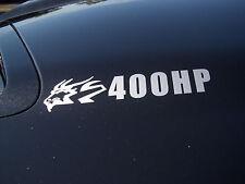 2004 2005 2006 PONTIAC GTO, GOAT, HSV, 400HP OVERLAY DECALS, 04, 05, 06