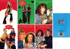 Ab Fab Absolutely Fabulous OOP UK Official Christmas Holiday Cards Patsy, Edina