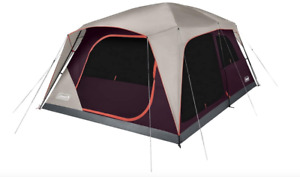 Coleman Skylodge 12 Person Instant Camping Tent, Blackberry