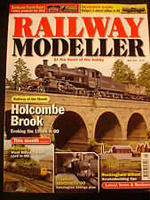 Railway Modeller May 2012 Holcombe Brook, Millfield, Clapham, school from scratc