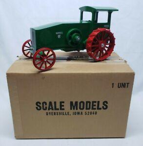 IH International Harvester 12-25 H.P. Mogul Tractor On Steel Scale Models 1/16