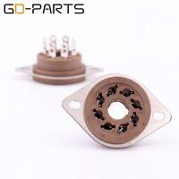 8 pin octal vacuum tube socket for EL34 6V6 KT88 6550 GZ34 Chassis mount Lot*10