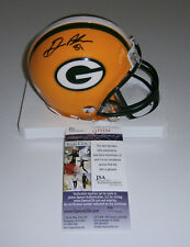 PACKERS Geronimo Allison signed mini helmet w/ #81 JSA COA AUTO Autographed