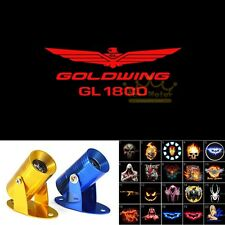 Red GOLDWING GL 1800 Logo Motorcycle Ghost Shadow Projector LED Light for Honda