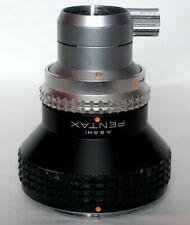 Pentax K microscope adapter.