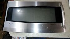 6AA80 GE JVM2070SH001 MICROWAVE OVEN DOOR, HAS A FEW SCRATCHES AND A DING, GC
