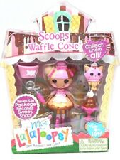 NEW Mini Lalaloopsy Figure Doll Scoops Waffle Cone #3 of Series 8 Exclusive RARE