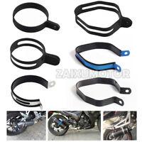 Motorcycle Exhaust Muffler Can Six Angle Hanger Hanging Clamp Mount Bracket