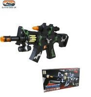 KIDS M4 Firepower Toy Gun with Lights, Sounds and Rotating Magazine Army