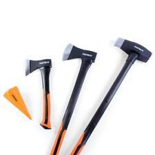 4er Axt-Set FUXTEC® Beil Spalthammer Spaltaxt Axt Spaltkeil Spaltbeil