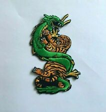 Dragon & Tiger Patch Embroidered Patch Martial Arts Uniform Iron On Patch-NEW
