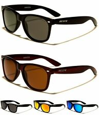 BeOne Polarized Square Semi-Mirror Lens Womens Mens Sunglasses 100%UV400 Monza