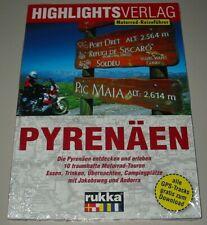 Motorrad Reiseführer Pyrenäen entdecken 10 Traumhafte Touren Buch Neu!