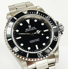 Schöne Rolex Submariner No Date Ref 14060 Tritium