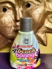 Tan Inc BEACH BUNNY HTF BROWN SUGAR Line~Ultra Dark accelerator w/Silicone 8 oz.