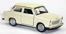 Trabant 601 beige Trabi Modellauto 1:34 ca. 12cm Neuware von WELLY