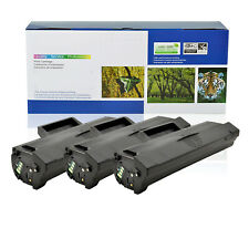 3PK MLT-D104S Toner Cartridge For Samsung SCX-3205W ML-1667 ML-1865 ML-1675