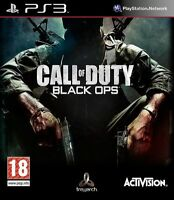 Call of Duty- Black Ops ps3 -Play Station 3- MINT - 1st Class Fast Delivery