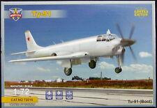 "Modelsvit Models 1/72 TUPOLEV Tu-91 ""BOOT"" Prototype Naval Attack Aircraft"
