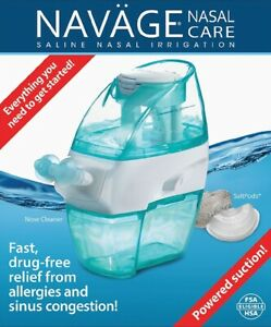 Navage Nasal Care Saline Nose Cleaner Irrigation Sinus Relief SDG-2