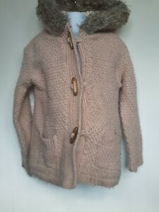 GIRLS YOUNG DIMENSION COAT SIZE 5-6 YEARS VGC REF BOX A32