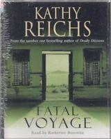 Fatal Voyage Kathy Reichs 4 Cassette Audio Book NEW Abridged Temperance Brennan