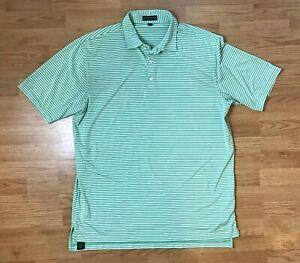Peter Millar Summer Comfort Mens Golf Polo Shirt Short Sleeve Size XXL Striped *