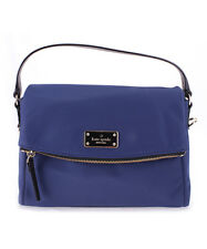 Kate Spade Blake Avenue Miri WKRU4216 Oceanic Blue Satchel Crossbody Bag $199