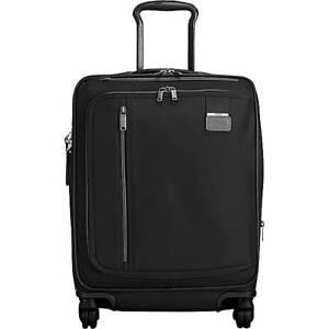 Tumi Merge INTERNATIONAL Carry On 2228660 Black BALLISTIC Suitcase EXPANDABLE