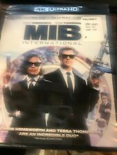 Men In Black: International (4K Uhd+Blu-ray+Digital, 2019) New / No Slipcover