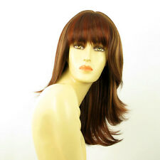mid length wig  brown copper wick light blond and red ref: GLADIS 33H  PERUK