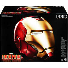 The Avengers Marvel Legends Iron Man Electronic Helmet Full-Scale Priority Mail