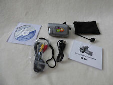 """Global New Beginnings DV-136ZB-128 1.8"""" 3.1 MP Digital Video Camera with 4X Zoom"""