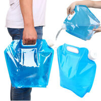 Portable Outdoor Collapsible Foldable Drinking Water Bag Car Carrier  UK1 U1