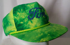 Ford Green Tie Dye Nissin Baseball Cap Hat Rope Band Strap back Adjustable