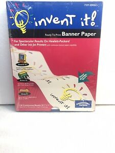 Invent It! Banner Paper - Office & School Supplies