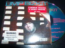 Limp Bizkit Break Stuff Rare Australian Enhanced CD Single EP + 4 Video Tracks