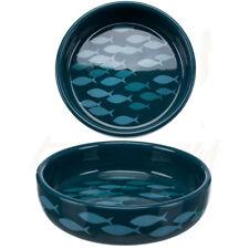 2 x Trixie Cat Kitten Ceramic Bowls for short-nosed Breeds 0.3 l/ø 15cm 24803