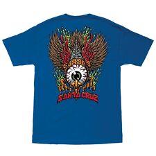 Santa Cruz Jimbo Phillips Eagle Eye Skateboard T Shirt Royal Blue Xxl