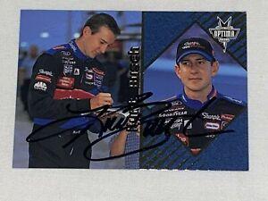Kurt Busch VINTAGE autographed PRESS PASS OPTIMA 2001 WINSTON CUP ROOKIE card