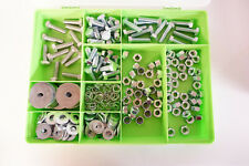 M12 Nuts And bolts , Spring and  Penny Washers High tensile 8.8 Bright Zinc set
