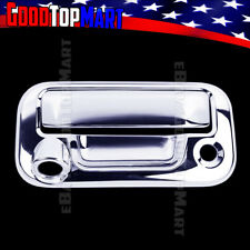 For Ford F150 2004-2011 2012 2013 2014 Chrome Tailgate Cover WITH Keyhole+Camera