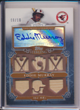 EDDIE MURRAY 2010 TOPPS STERLING BAT AUTO ORIOLES HOF 09/10