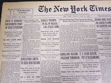 1930 JUNE 29 NEW YORK TIMES - REBELS TRIUMPH IN BOLIVIA - NT 4193