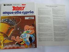 1x Comic - Asterix - Atque Olla Cypria 16 (Latein) (mit Beilage von 1986) SELTEN