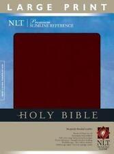 Premium Slimline Reference Bible NLT, Large Print, , Good Book
