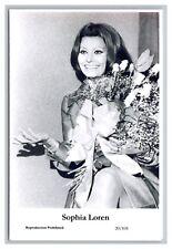 Sophia Loren (C) Swiftsure Postcard year 2000 modern print 20/101 glamour photo
